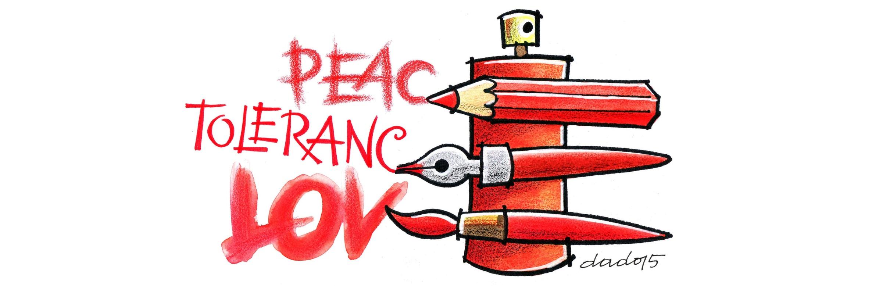 Karikatura Dade Kovačevića u Galeriji AZ