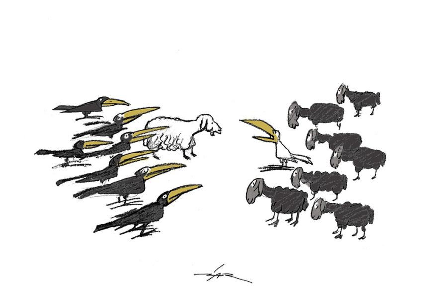 Epoha Portal Žarko Luetić Karikatura